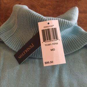 Brand New Pendleton Merino Wool Turtleneck Sweate
